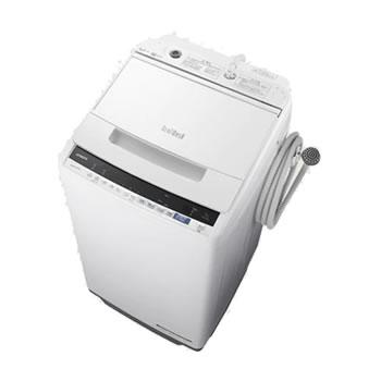 日立【HITACHI】7kg 全自動洗濯機 ビートウォッシュ ホワイト BW-V70E-W★【BWV70EW】
