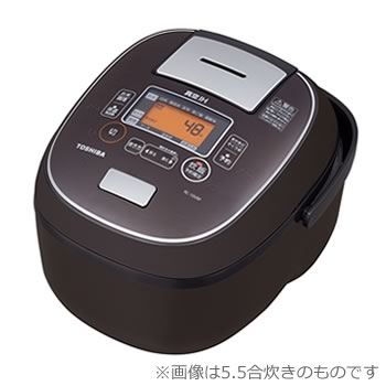 東芝【TOSHIBA】1升炊き 真空IHジャー炊飯器 ディープブラウン RC-18VRP-TS★【RC18VRPTS】