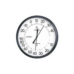 15:00迄の在庫商品のご注文分は最短で当日出荷 定番キャンバス リズム時計工業 シチズン TM-42 (訳ありセール 格安) 温度 9CZ013-003 湿度計