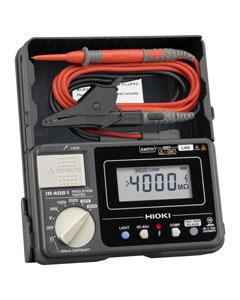 日置電機 絶縁抵抗計 (スイッチなしリード付属) IR4051-10