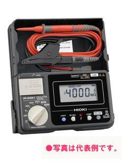 日置電機 絶縁抵抗計 (スイッチ付きリード付属) IR4051-11