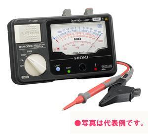 日置電機 アナログメグオームハイテスタ (スイッチ付きリード付属) IR4033-11