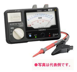 日置電機 アナログメグオームハイテスタ (スイッチ付きリード付属) IR4015-11