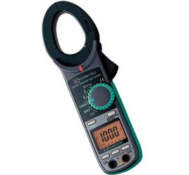 共立電気 交流電流・直流電流測定用クランプメータキュースナップ (携帯用ケース付) 2055