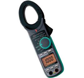 共立電気 交流電流・直流電流測定用クランプメータキュースナップ (携帯用ケース付) 2056R