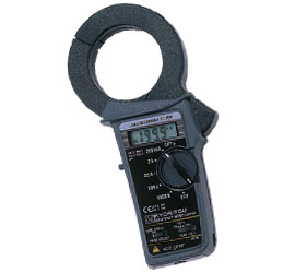 共立電気 漏れ電流・負荷電流測定用クランプメータキュースナップ (携帯用ケース付) 2413F