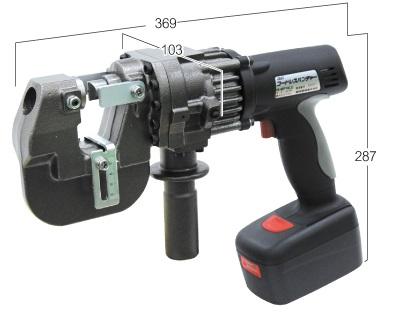 育良精機 コードレスパンチャー IS-MP18LE