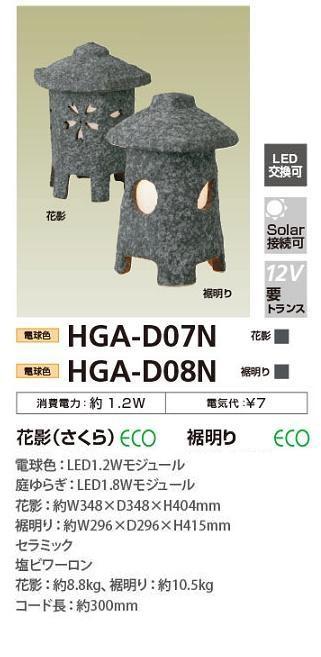 タカショー 裾明り 電球色 HGA-D08N