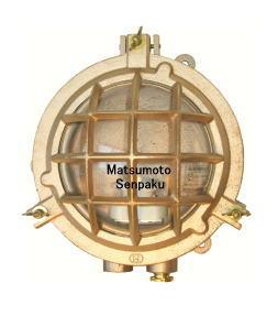 松本船舶電機 マリンランプ デッキライトシリーズ マルガタデッキ ゴールド MR-DK-G 【ランプ別売】【屋内 屋外兼用】