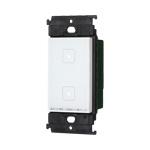 パナソニック アドバンスシリーズ [タッチ] LEDお好み点灯ダブルスイッチ(受信器)(適合LED専用1.2A)(マットホワイト) WTY5322W