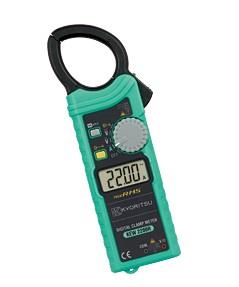共立電気 キュースナップ 交流電流測定用クランプメータ KEW2200R