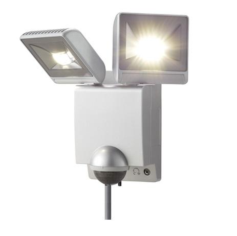 オプテックス LA-22LED(S) LEDセンサライトON/OFFタイプ LED二灯タイプ