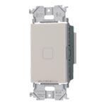 パナソニック WTY521730FK アドバンスシリーズ [タッチ] LED調光スイッチ(2線式・親器・3路配線対応形)(適合LED専用3.2A)(逆位相タイプ)(マットベージュ)