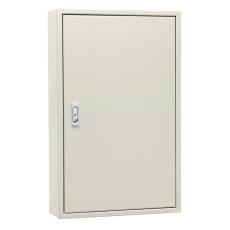 河村電器 FX 5045-16 盤用キャビネット FX 鉄板製/屋内用 露出形/鉄製基板 片扉 ベージュ