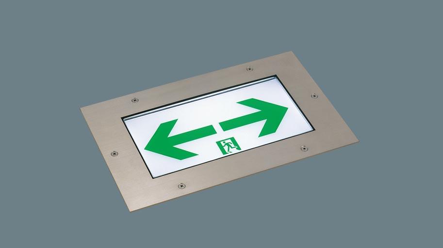 パナソニック 床埋込型 LED 誘導灯 片面型 リモコン自己点検機能付/C級(10形) FA10373LE1
