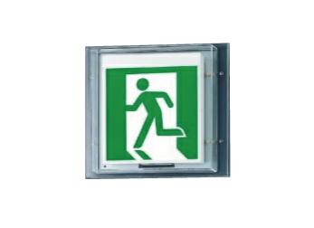 パナソニック 壁直付型 LED 誘導灯 片面型 防湿型・防雨型・リモコン自己点検機能付/C級(10形) FW11337LE1