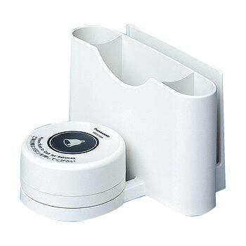 パナソニック ECE3723W 小電力型ワイヤレスサービスコール卓上発信器(メニュースタンド付)(ホワイト)
