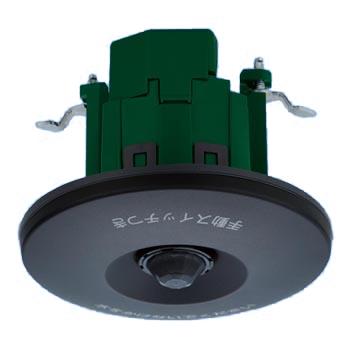 パナソニック WTK44819B (ブラック) 施設向 [軒下天井取付]熱線センサ付自動スイッチ (親器・8Aタイプ・広角検知形)