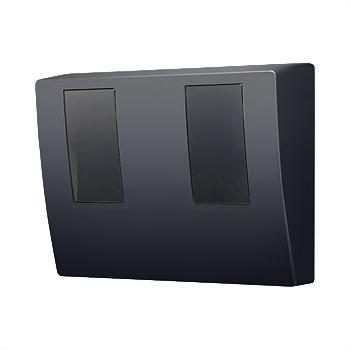 パナソニック スマートデザインシリーズWHMボックス2コ用・30A - 120A用 ブラック (東京電力管内向け) BQKN8325BK