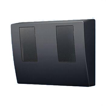 パナソニック スマートデザインシリーズ東京電力管内を除く全電力管内用 WHMボックス2コ用・30A - 120A用 ブラック BQKN8325B