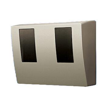 パナソニック スマートデザインシリーズWHMボックス2コ用・30A - 120A用 シャンパンブロンズ (東京電力管内向け) BQKN8325QK