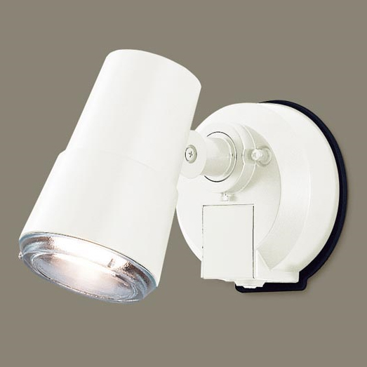 パナソニック LGWC45001WK 壁直付型 LED(電球色) スポットライト・勝手口灯 照射面中心60形電球1灯相当 防雨型・FreePa・フラッシュ・ON/OFF型(連続点灯可能)・明るさセンサ付 白熱電球50形1灯器具相当 50形