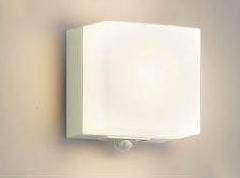 (電球色) LEDポーチライト 人感センサ付 コイズミ AU45873L