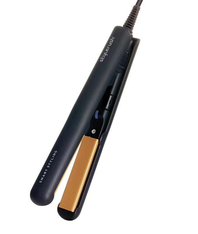 在庫あり スタイルラッシュ 感謝価格 ミニ ポータブル セラミック ブラック -B 保証 ヘアアイロンSR-103AN