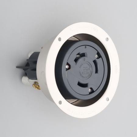 アメリカン電機 31066 フランジコンセント 3P 100A 600V