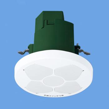 パナソニック WTK64810K 天井取付 熱線センサ付自動スイッチ (親器・8Aタイプ・微動検知形) (検知後連続動作時間約1~10分可変形) (明るさセンサ付) (100~242V)