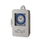 パナソニック TB4203K 24時間式タイムスイッチ 防雨型 クォーツモータ式 AC100-220V a接点(別回路)
