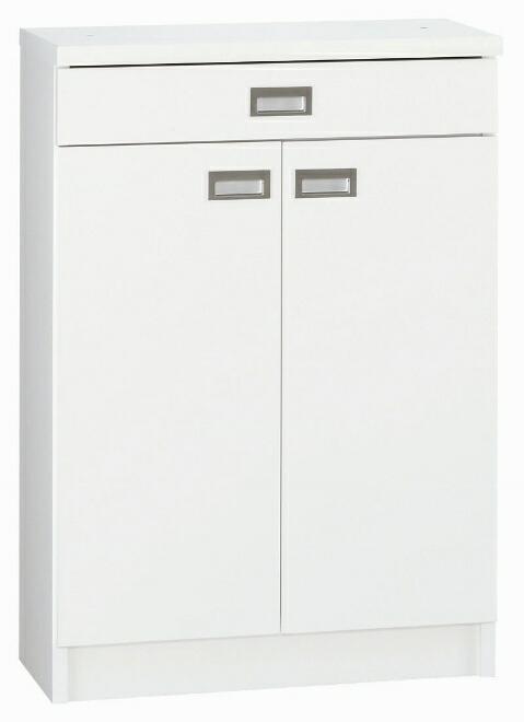 【・日本製】カウンター下収納庫 オリオン60(ホワイト/メープル/ダーク)