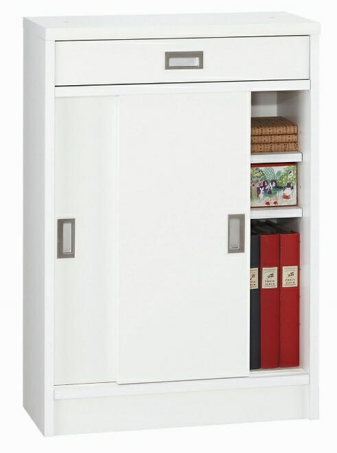 【送料無料・日本製】カウンター下収納庫 シリウス60(ホワイト/メープル/ダーク)