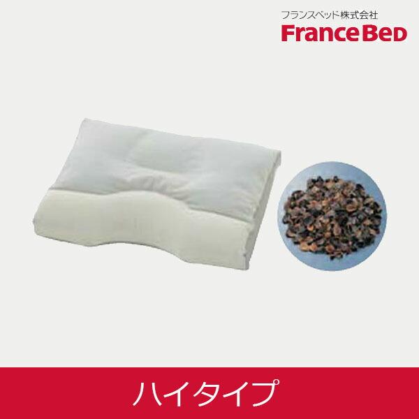 フランスベッド ニューショルダーフィットピロー そばがら ハイ 39×52cm 【FranceBed】【送料無料】