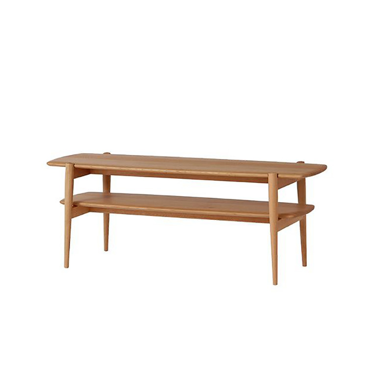 日進木工 アクセント ac-cent ツインテーブル TWIN TABLE ACK-036 W900×D415×H450mm 【送料無料】