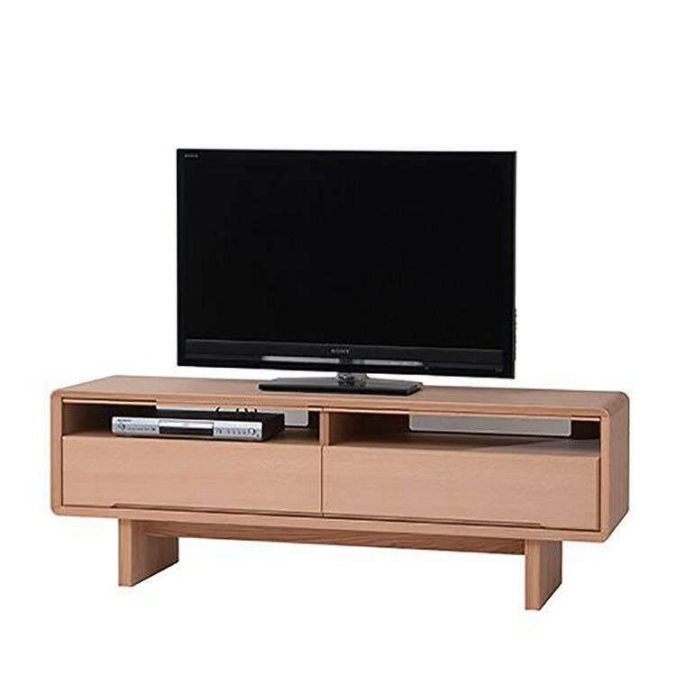 日進木工 アクセント ac-cent TVボード ACL-470R レッドオーク W1500×D450×H535mm 【送料無料】
