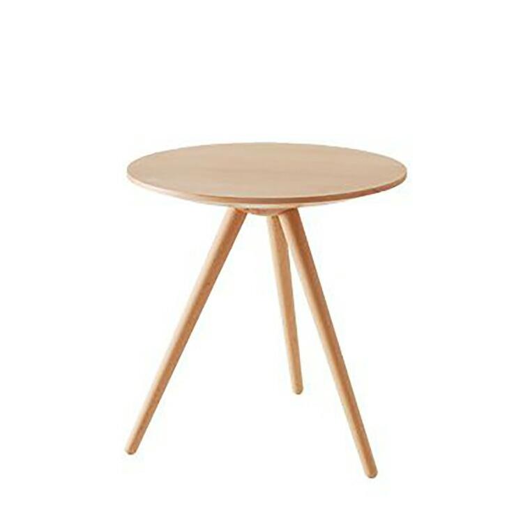 日進木工 アクセント ac-cent ラウンドテーブル ROUND TABLE NK-309-B φ500×H520mm