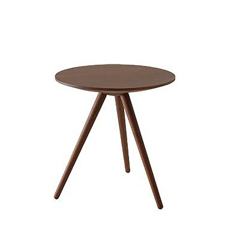 日進木工 アクセント ac-cent ラウンドテーブル ROUND TABLE NK-309-W φ500×H520mm 【送料無料】