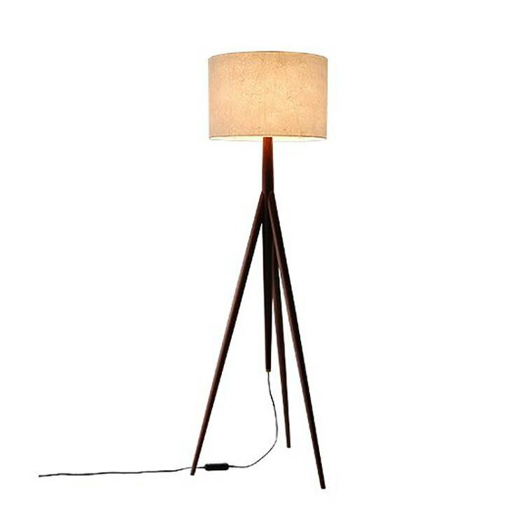 日進木工 アクセント ac-cent フロアランプ FLOOR LAMP NK-311-W W520×D450×H1500mm 【送料無料】