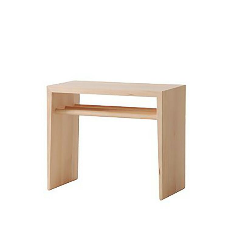 日進木工 アクセント ac-cent ツーウェイサイドテーブル 2WAY SIDE TABLE NK-316-B W470×D240×H400mm