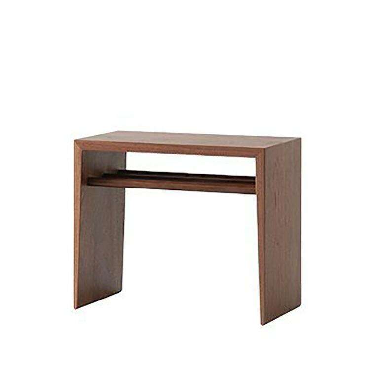 日進木工 アクセント ac-cent ツーウェイサイドテーブル 2WAY SIDE TABLE NK-316-W W470×D240×H400mm