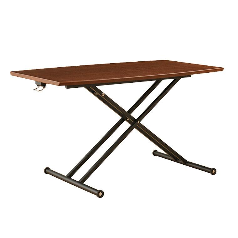 リフティングテーブル ラルカ130 WAL 昇降式 W1300×D750×H380~740