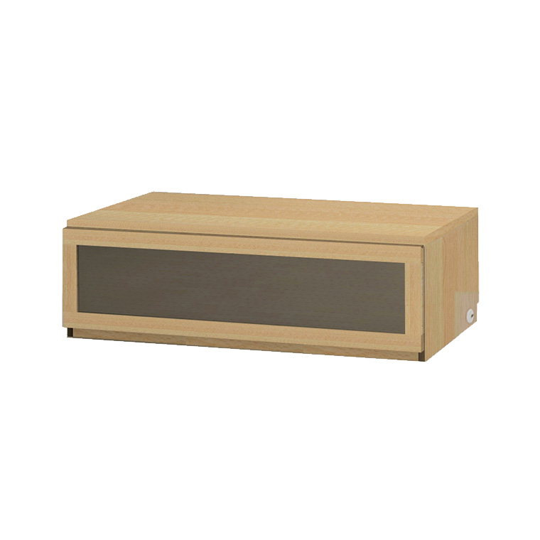 マテリア3 壁面収納 TVボード TM D42/32 120-LG W1200×H370×D420/320mm 【すえ木工】【Materia3】
