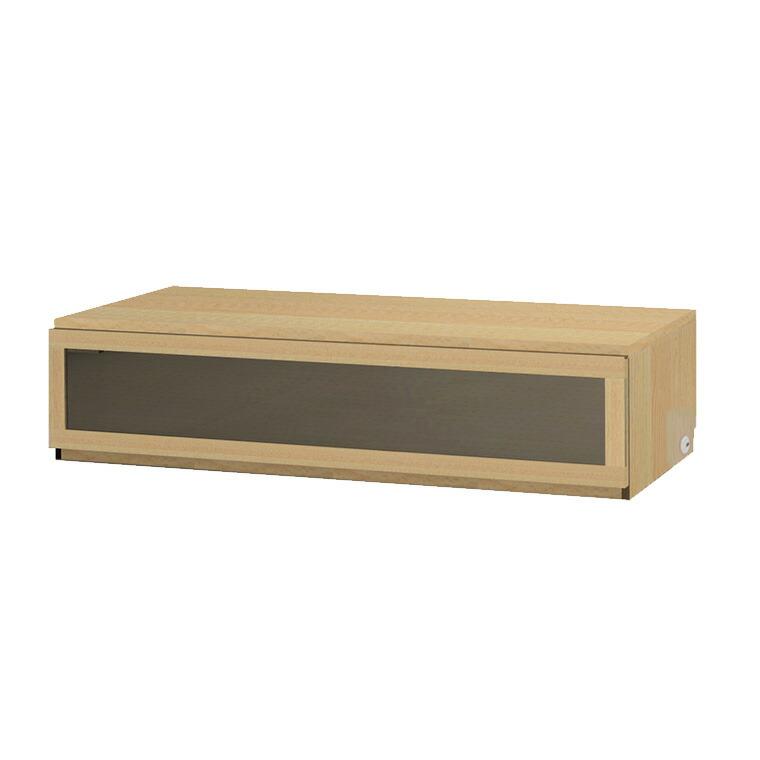 マテリア3 壁面収納 TVボード TM D42/32 160-LG W1600×H370×D420/320mm 【すえ木工】【Materia3】
