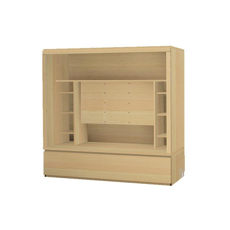 マテリア3 壁面収納 TVボード TM D42/32 180-OVT W1800×H1690×D420/320mm 【すえ木工】【送料無料】【Materia3】