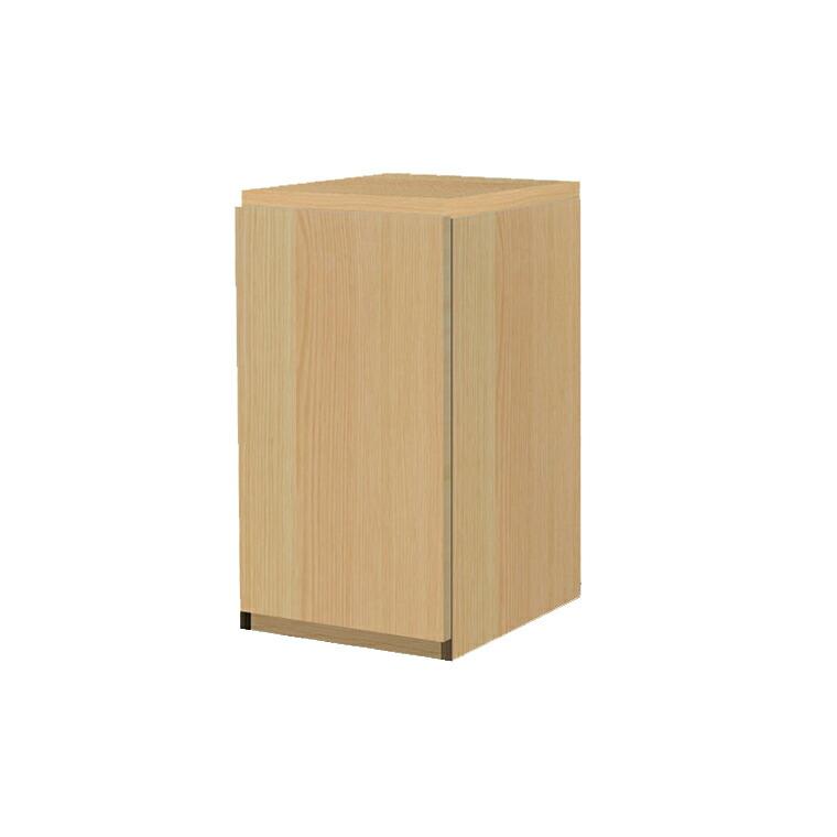 マテリア3 壁面収納 ミニキャビネット(高さ70cm) TM D42/32 40-T L/R W400×H700×D420/320mm 【すえ木工】【送料無料】【Materia3】