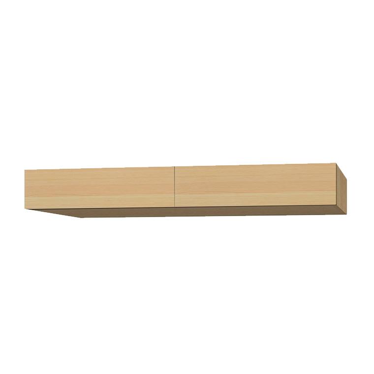マテリア3 壁面収納 フィラーBOX TM D42/32 FB160 W1600×H200~280×D420/320mm 【すえ木工】【Materia3】