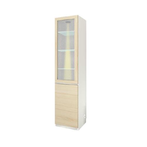 すえ木工 Mgver.3 FW 40-CGT L/R コレクションボード 壁面収納 W400 D470/320 H1800