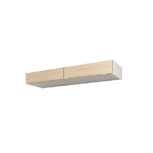 【送料無料】 すえ木工 Mgver.3 FB160 フィラーボックス(対応高200-280) 壁面収納 W1600 D470/320 H200-280