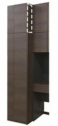 MG Storage(ストレージ) ジョイントパネル 上置用 UWJP-M 壁面収納 W620 D2 H360-590 【すえ木工】【MG Storage】【MG Ver.3】